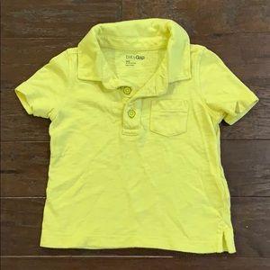 5 items/ $15 - Gap Yellow Polo Shirt